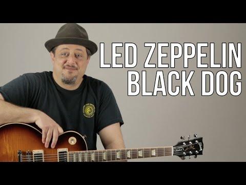 Led Zeppelin Black Dog Guitar Lesson + Tutorial