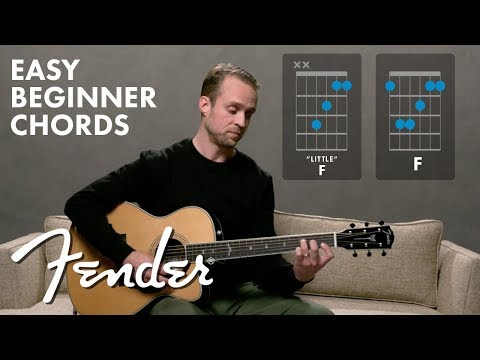 How To Play F Major | Guitar Chords | Fender Play