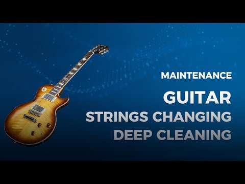 How to Change Strings on Electric Guitar [Gibson Les Paul 50's]