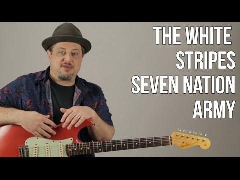 Seven Nation Army The White Stripes Guitar Lesson + Tutorial