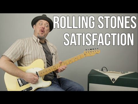 """How to Play """"(I Can't Get No) Satisfaction"""" by The Rolling Stones on guitar - Guitar Lessons"""