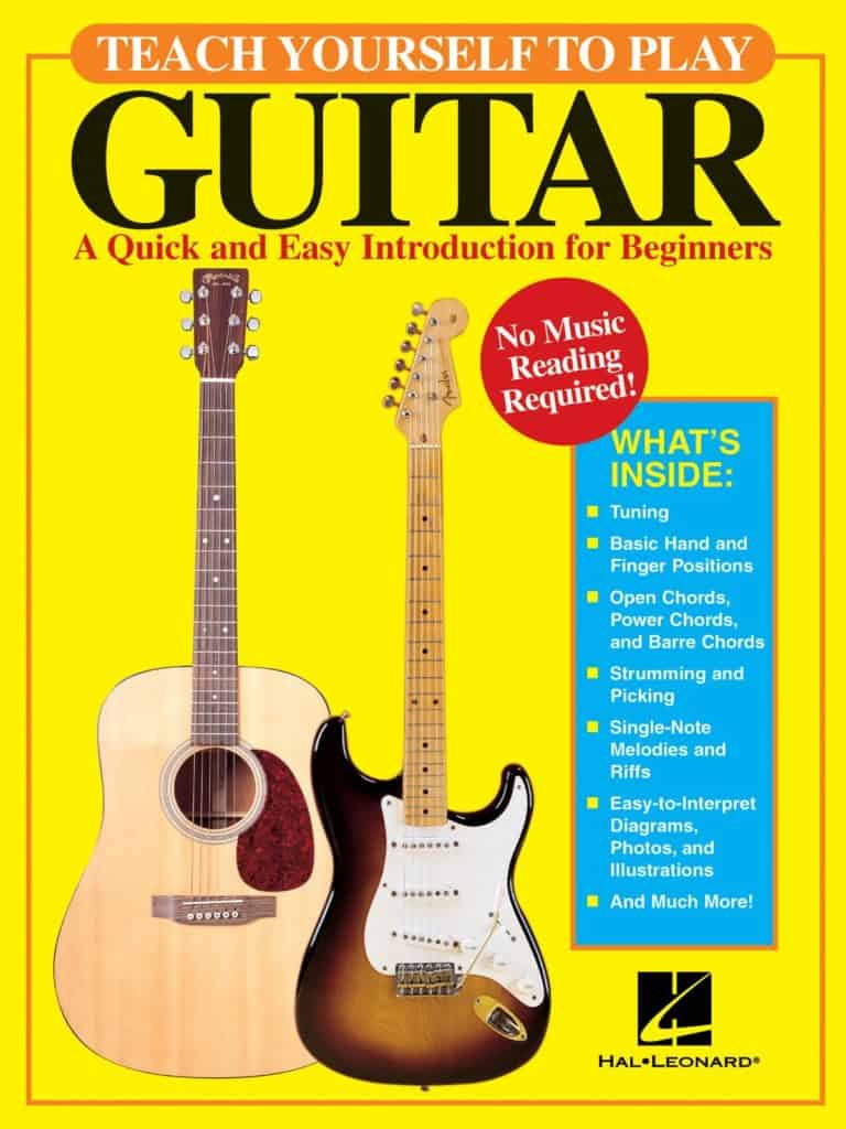 'Teach Yourself to Play Guitar: A Quick and Easy Introduction for Beginners' by David Brewster