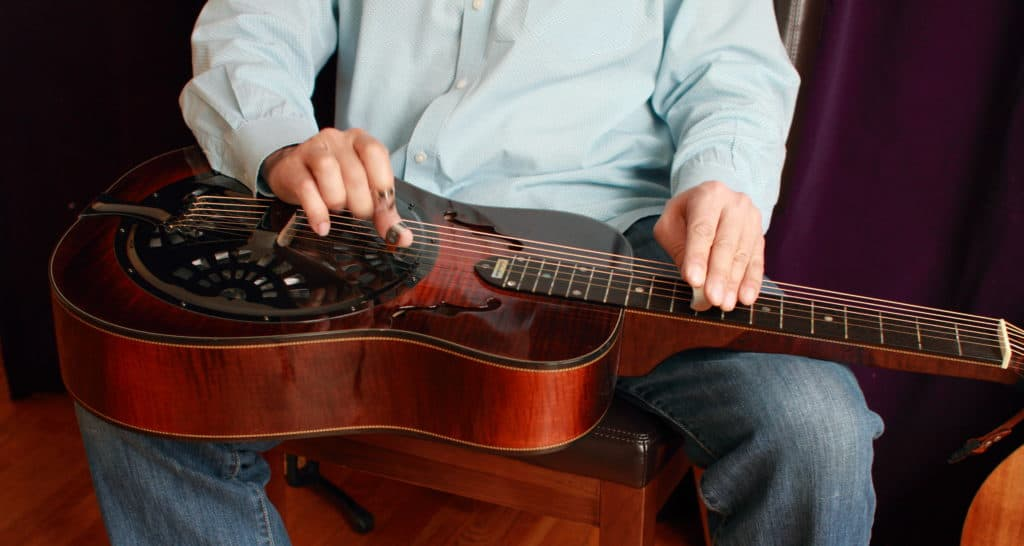 how to play slide guitar - Dobro