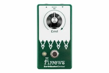 EarthQuaker Devices Arrows V2 Preamp Booster Pedal