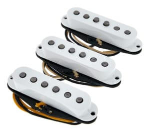 Fender Custom Shop Texas Special Strat Pickups - how do electric guitar pickups work