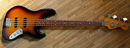 Fender Jaco Pastorius Jazz Bass Guitar