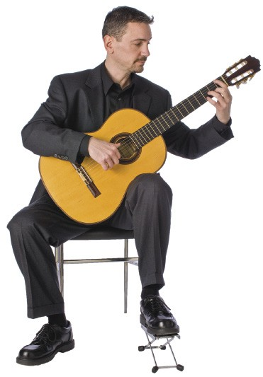 how to learn to play an acoustic guitar - classical guitar posture