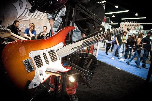 Vigier Excalibur Surfreter Special fretless guitar