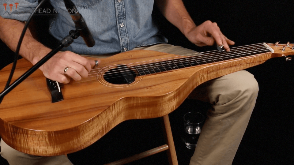 how to play slide guitar - Weissenborn