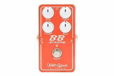 Xotic BB Preamp v 1.5 Guitar Pedal