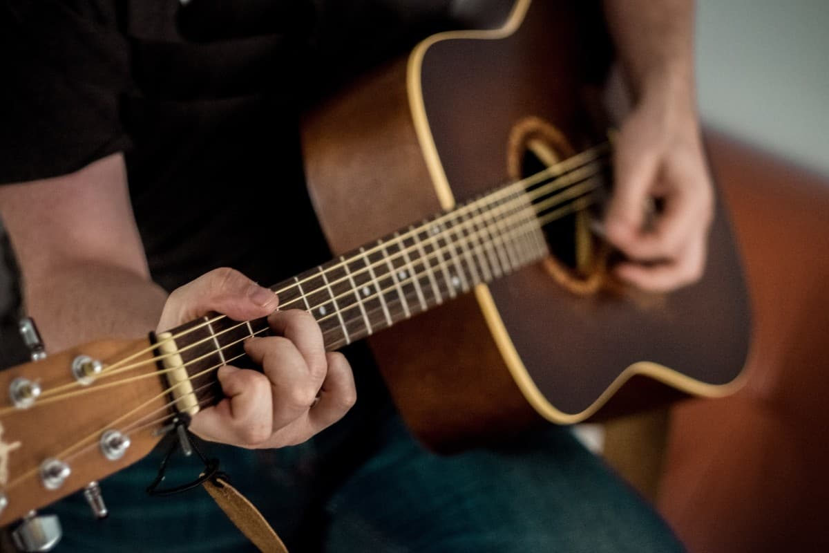 learn guitar for left handers - left handed acoustic guitar